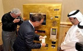 Gold Bar Vending Machine Dubai Best Forget The Cash Get The Gold ATM Machine