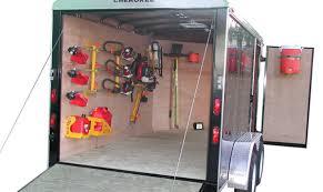 Cabinets For Cargo Trailers Landscape Trailer Racks And Accessories Australian Squash Tour