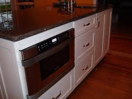 Microwave Drawer In Island