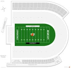 Nippert Stadium Seating Chart With Rows Nippert Stadium Cincinnati Seating Guide Rateyourseats Com