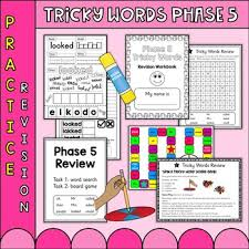 Letters and sounds phase 4 resources (rachel traxson) doc. Phase 5 Phonics Worksheets Teaching Resources Tpt