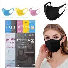 3pcs PITTA 3D Dust-proof <b>Anti</b>-<b>fog</b> PM2.5 <b>Sponge</b> Mask Protective ...