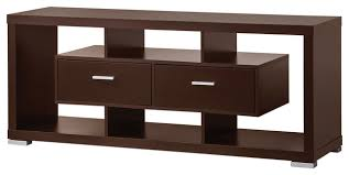 wall units tv stand modern wood tv console table cappuccino