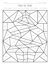 Coloring Pages Math Coloring Pages Multiplication Worksheets Sheet