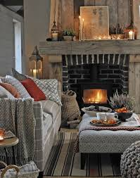 cozy living room with fireplace. Delighful Living Warm And Cosy Living Room With Rustic Fireplace For Cozy With O