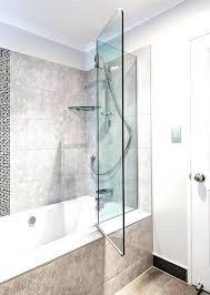 bath glass doors door hinges seal frameless