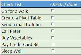 Create Checklist In Excel How To Insert Use A Checkbox In Excel 3 Examples 8 Important Points