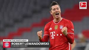 Lewandowski's penalty against freiburg on matchday 33 saw him pull level with müller on 40 goals in 2020/21, and he has reached that remarkable tally despite missing five games this season. Bundesliga Robert Lewandowski Md24 S Man Of The Matchday Underscores Place Among Greats In Bayern Munich S Klassiker Triumph