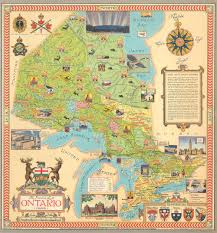 The Province Of Ontario Canada Geographicus Rare Antique Maps