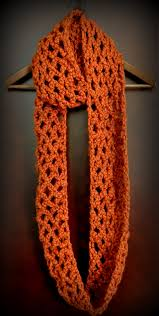 Crochet Scarf Patterns Bulky Yarn Custom Free Pattern Diamond Lattice Chain Crochet Infinity Scarf Classy