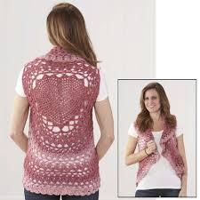 Crochet Mandala Vest Pattern Free Simple Decorating