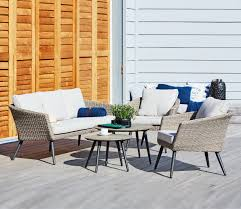 scandinavian outdoor furniture. Garden Lounge Furniture Set Beautifully In A Scandinavian Style. Style With Cushions And Throws For Outdoor O