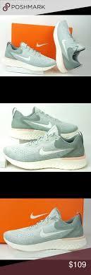 Nike Odyssey React Light Silver Nike Womens Odyssey React Shoes Silver Green Nike Womens
