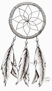 Dream Catcher Outline Drawn dreamcatcher cartoon Pencil and in color drawn 63