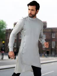 Designer Kurta For Groom Fabric Silk Indian Men Fashion Mens Kurta Designs