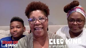 Cleo King w/ wife Camille & their son Titus - You've Got to Go - SU4A -  Stand Up 4 America