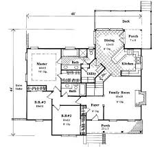 Country style house plans 1631 square foot home 1 story 3 bedroom and 2 bath 2 garage stalls by monster house plans plan