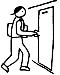 open and closed door clipart. Close The Door Clipart Open And Closed