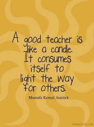 Beautiful Teacher Quotes