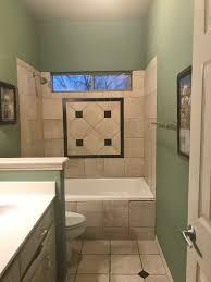 standard bathroom remodel