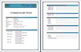Resume Layout For Microsoft Word 2010 Best Of Free Cv Template Word