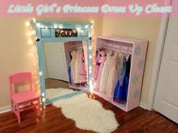 diy little <b>girl</b> s <b>princess dress</b> up closet, bedroom ideas, painted ...