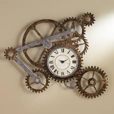 wall art designs bicycle wall art gear clock wall art home decor rustic vintage style