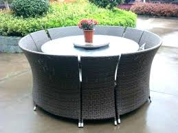 small patio furniture sets umbrella seating space outdoor round dining chair cushions um