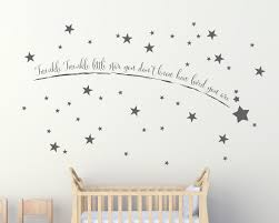 dazzling star wall art home decorating ideas shooting stickers decor uk designs metal 3 on star wall art designs with amusing star wall art minimalist solid moon 35 stickers nursery