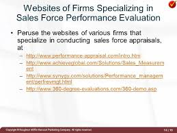 Sales Force Performance Evaluation - Ppt Video Online Download
