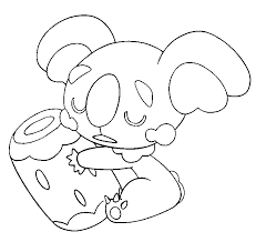 Small Picture Coloring page Pokemon Sun and Moon Komala 4