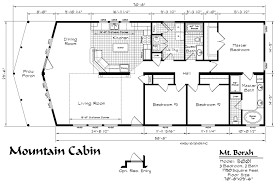 cabin floor plans. Mountain Cabin Model Floor Plan Kit Homebuilders West Plans O