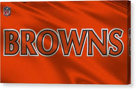 cleveland browns canvas print cleveland browns uniform by joe hamilton on cleveland browns canvas wall art with cleveland browns canvas prints page 3 of 32 fine art america