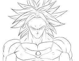 Dragon Ball Super Coloring Pages Online Free Dragon Ball Z Coloring