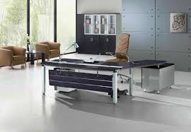 contemporary office desk glass. Furniture:Contemporary Office Desk Black Leather Chair Added Glass Top Home Of Furniture Magnificent Gallery Contemporary