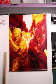 Vintage Hd Pictures The Flash Poster Retro Art Wall Home Decoration