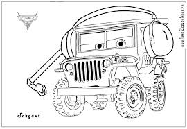 Hurricane Concept For The Jeep Coloring
