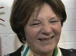 Delia Smith sings with delight as her team Norwich City beat Ipswich 5-1    Daily Mail Online