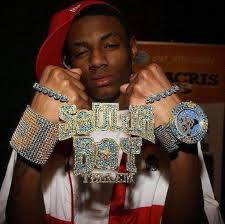 hip hop jewelry rapper bling 3 colored diamonds