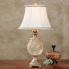 brantley glass pineapple table lamp by pineapple lamp