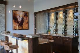 image of wine storage racks kitchen