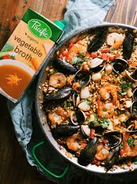 Spicy Seafood Paella Recipe