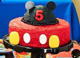 mickey mouse party supplies 08 birthday cake ideas