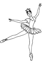Coloriage Danse Classique En Tutu