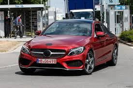 It's important to carefully check the trims of the vehicle you're interested in to make sure that. Mercedes Benz C Class Coupe 2016 Spied With Minimal Camouflage Car News Carsbase Com