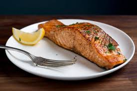 cooked salmon fillet. Perfect Salmon In Cooked Salmon Fillet M