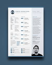 Creative Resume Template Cover Letter Word Modern Simple Free 201