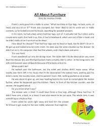 reading comprehension 3rd grade worksheets – streamclean.info
