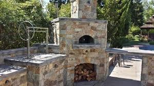 outdoor pizza oven bbq island sacramento