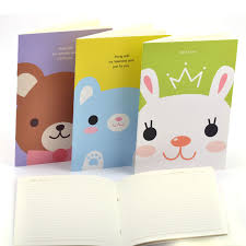 korea stationery cartoon exercise book supplies primary students in the prize